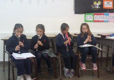 Taller de Música con Introducción a las Tic y Flauta dulce (Prof. Andrea Panero)