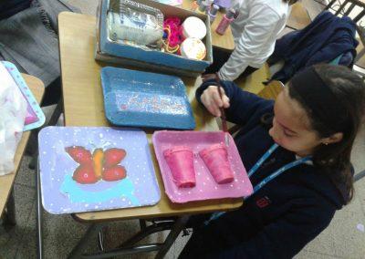 Taller de Reciclaje Creativo y Modelado: (Prof. Alejandra Ramírez)