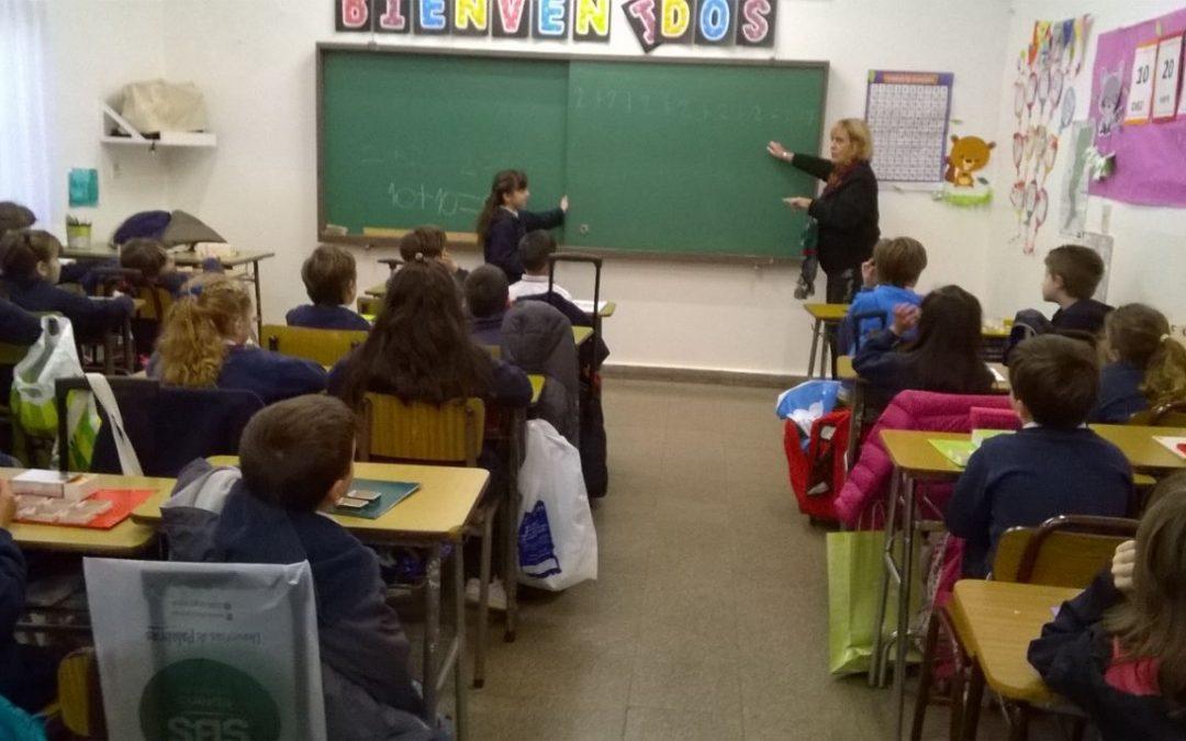 Aprendemos a multiplicar con la Prof. Liliana Cattaneo
